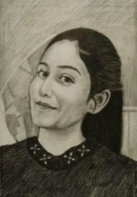 handmade sketch from photo
