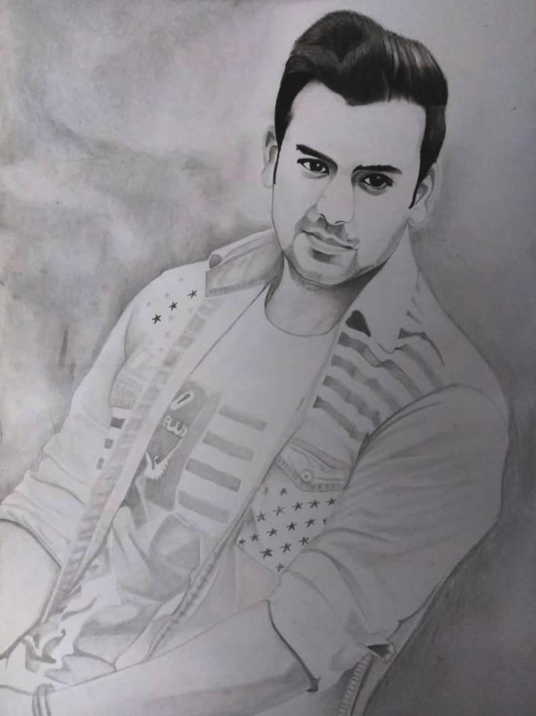 pencil portrait by our sketch artist