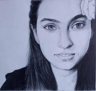 pencil sketch from photos